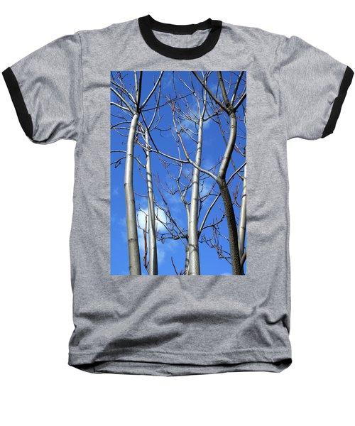 Silver Smooth Baseball T-Shirt