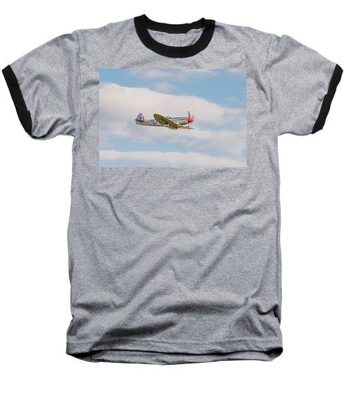 Silver Spitfire Baseball T-Shirt