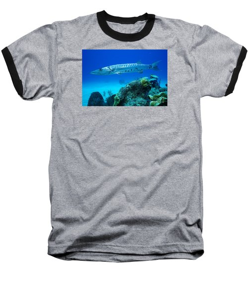 Baseball T-Shirt featuring the photograph Silver Stalker by Aaron Whittemore