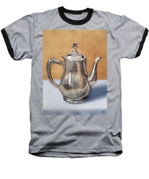 Silver Teapot Baseball T-Shirt