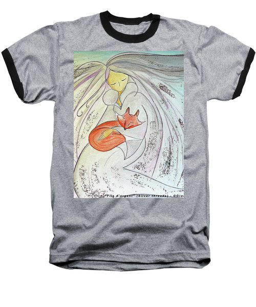 Silver Threads Baseball T-Shirt