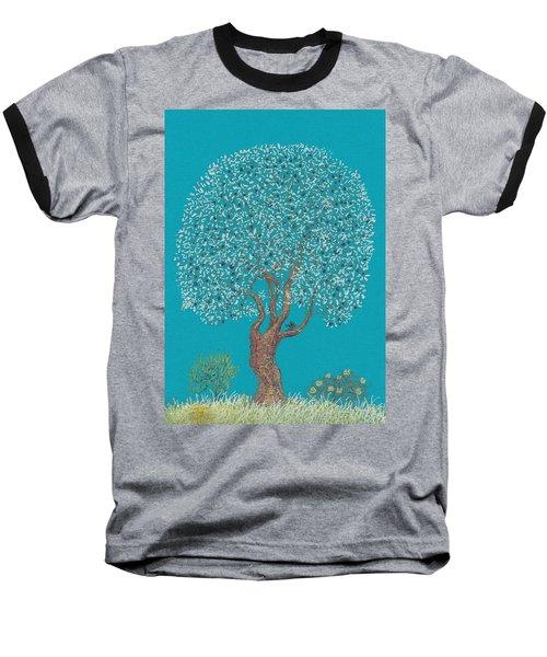Silver Tree Baseball T-Shirt