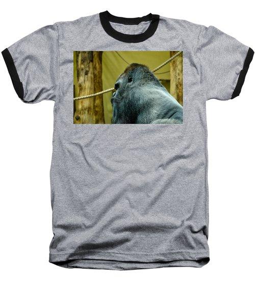 Silverback Gorilla Baseball T-Shirt