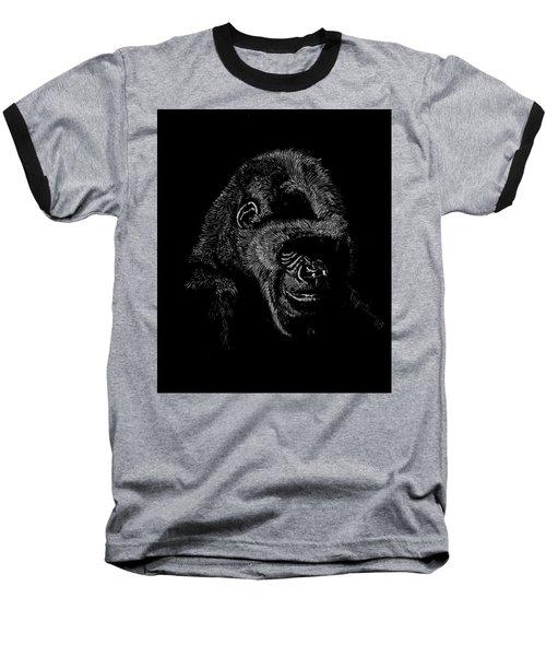 Silverback Baseball T-Shirt by Lawrence Tripoli