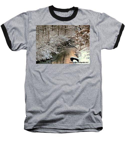 Silvered Shores Baseball T-Shirt