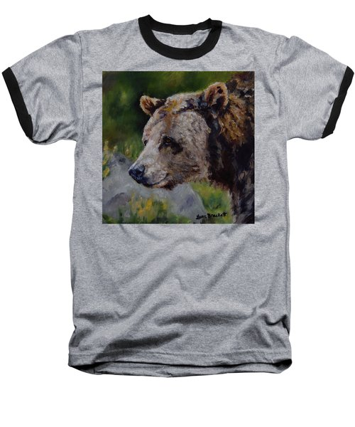Silvertip Baseball T-Shirt by Lori Brackett