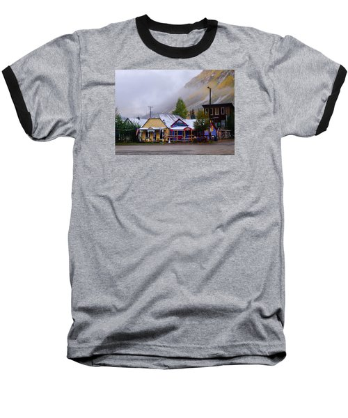 Silverton Back Street Baseball T-Shirt by Laura Ragland