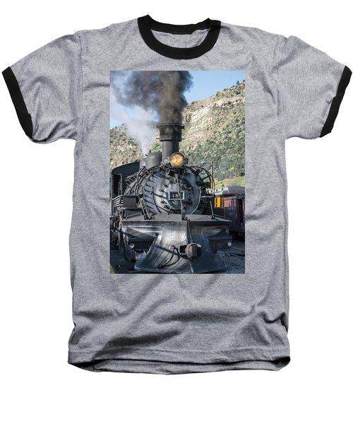 Baseball T-Shirt featuring the photograph Silverton Bound by Colleen Coccia
