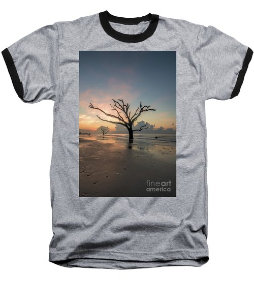 Silvia's Tree Baseball T-Shirt by Robert Loe
