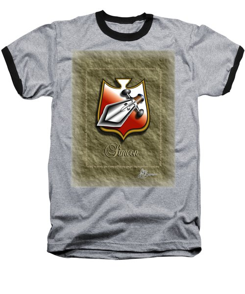 Simeon Shield Shirt Baseball T-Shirt