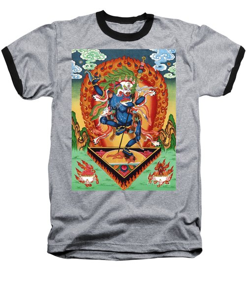 Simhamukha - Lion Face Dakini Baseball T-Shirt