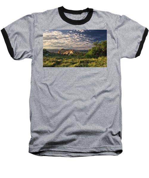 Simi Valley Overlook Baseball T-Shirt