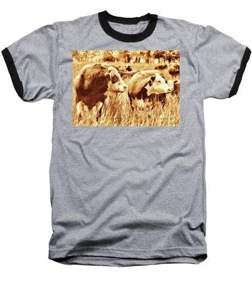 Simmental Bull 3 Baseball T-Shirt