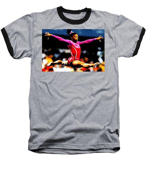 Simone Biles Baseball T-Shirt