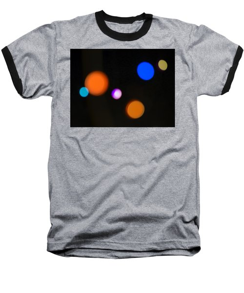 Simple Circles Baseball T-Shirt