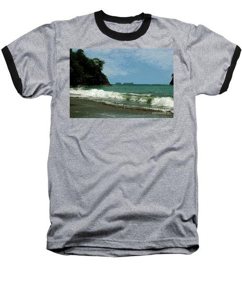 Simple Costa Rica Beach Baseball T-Shirt