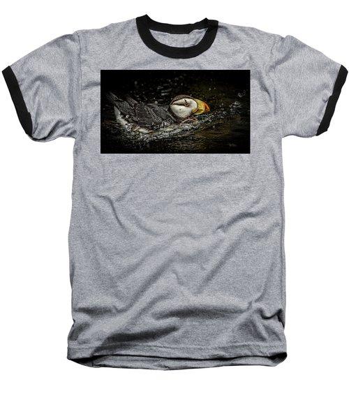 Simple Puffin Baseball T-Shirt