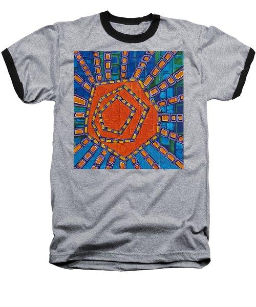 Simple Sunset Baseball T-Shirt