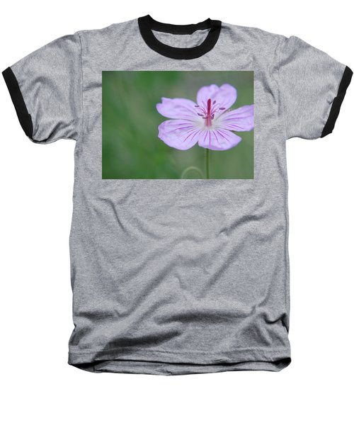 Simplicity Of A Flower Baseball T-Shirt