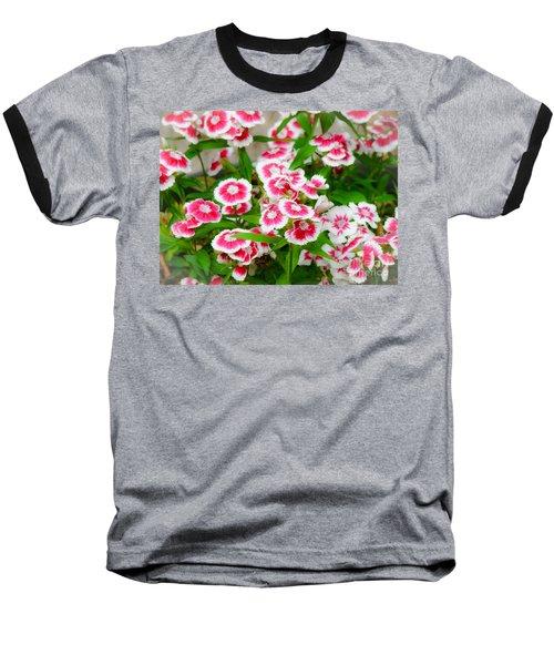 Simply Flowers Baseball T-Shirt