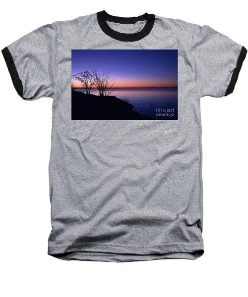 Simply Gentle Blue Baseball T-Shirt