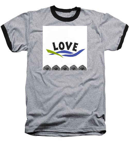 Simply Love Baseball T-Shirt by Gloria Rothrock