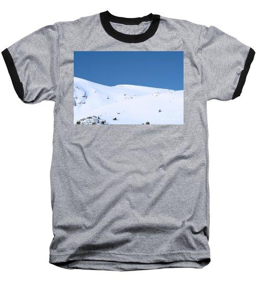 Baseball T-Shirt featuring the photograph Simply Winter by Juli Scalzi