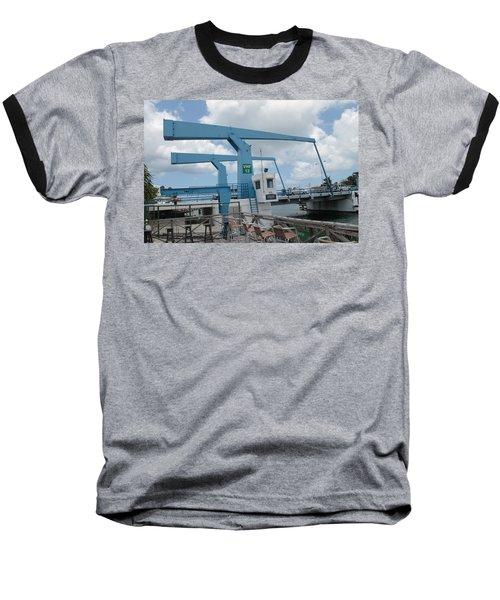 Simpson Bay Bridge St Maarten Baseball T-Shirt