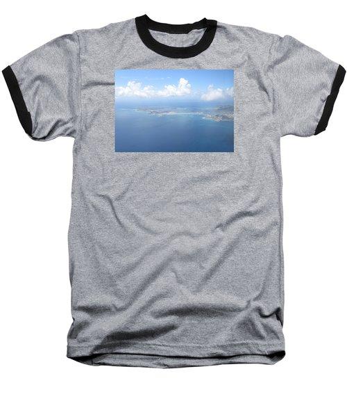 Simpson Bay St. Maarten Baseball T-Shirt