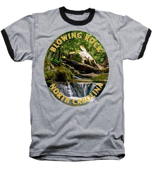 Sims Creek Waterfall T-shirt Baseball T-Shirt