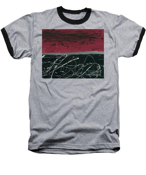 Simultanious Duality  Baseball T-Shirt by Talisa Hartley