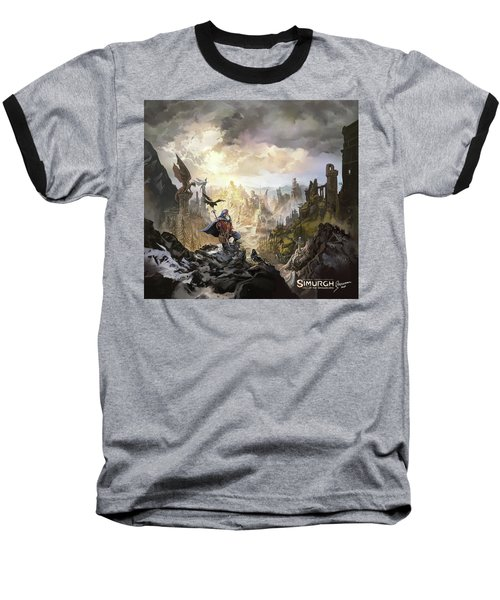 Simurgh Call Of The Dragonlord Baseball T-Shirt