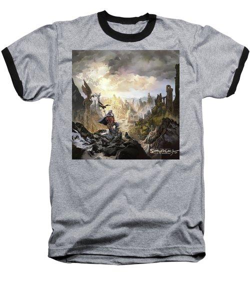 Simurgh Call Of The Dragonlord Baseball T-Shirt