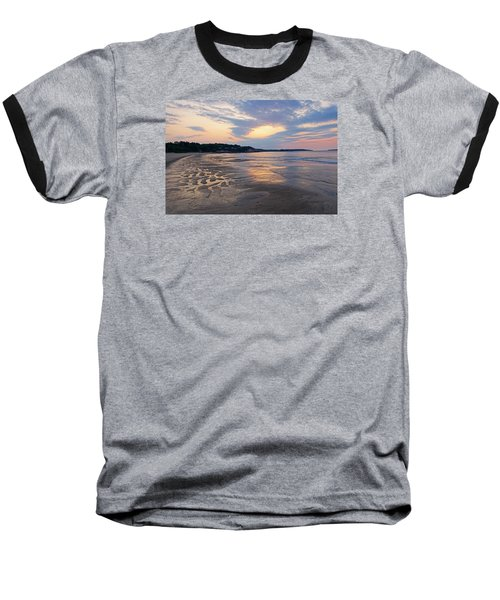 Singing Beach Sandy Beach Manchester By The Sea Ma Sunrise Baseball T-Shirt