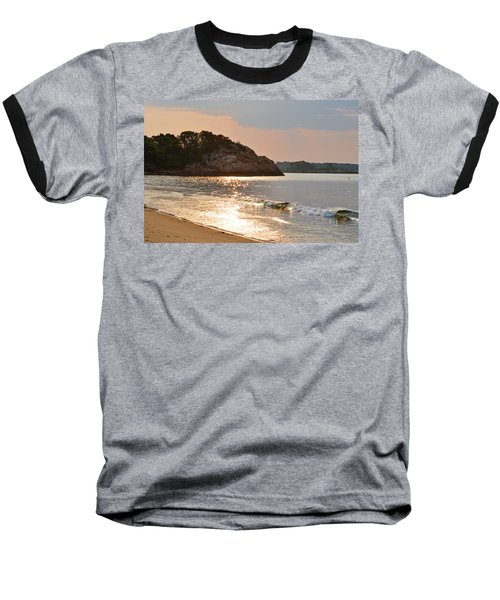 Singing Beach Silver Waves Manchester By The Sea Ma Baseball T-Shirt