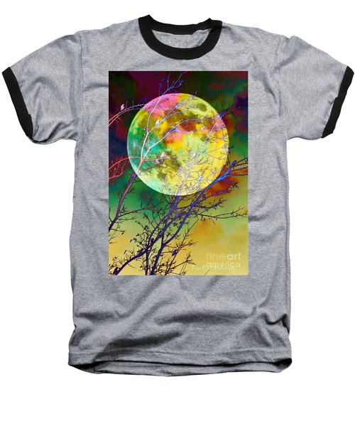 Singing By The Light Of The Moon Baseball T-Shirt