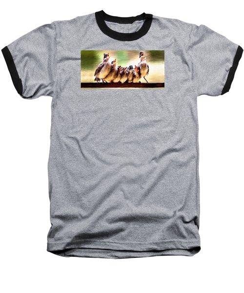 Singing For Supper Baseball T-Shirt