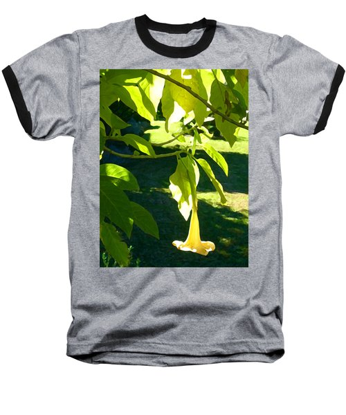 Single Angel's Trumpet Baseball T-Shirt