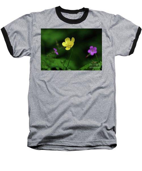 Single Buttercup Two Stinky Bob Baseball T-Shirt