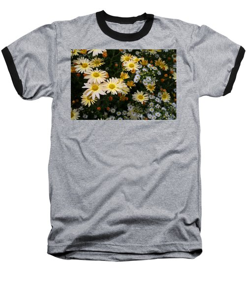Baseball T-Shirt featuring the photograph Single Chrysanthemums by Kathryn Meyer