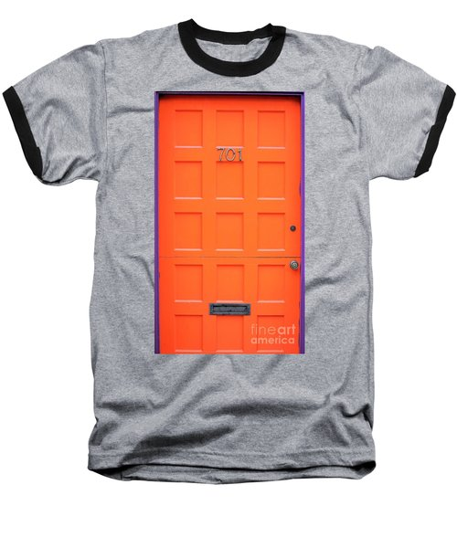 Single Door Baseball T-Shirt