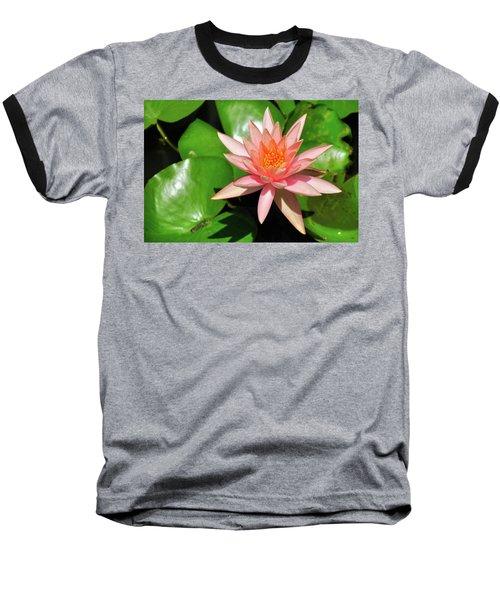 Single Flower Baseball T-Shirt