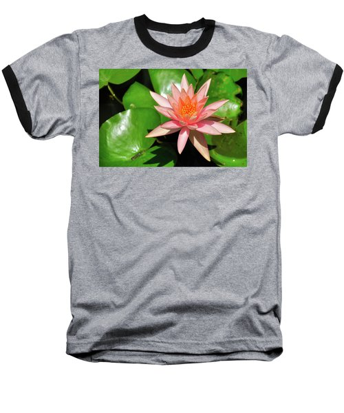 Single Flower Baseball T-Shirt