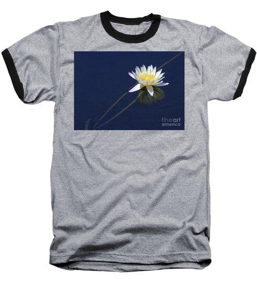 Single Lotus Baseball T-Shirt