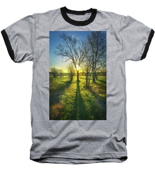 Baseball T-Shirt featuring the photograph Single Moments by Phil Koch