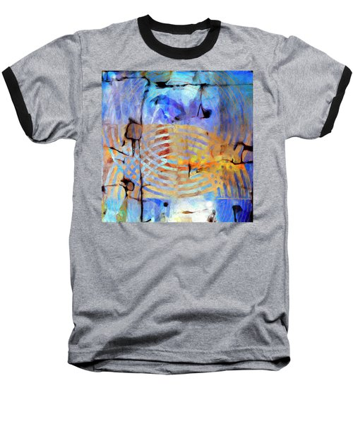 Baseball T-Shirt featuring the painting Singularity by Dominic Piperata