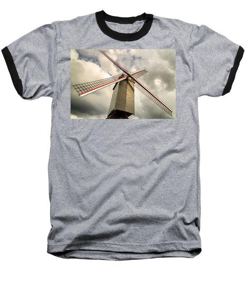 Sint Janshuismolen Windmill 2 Baseball T-Shirt