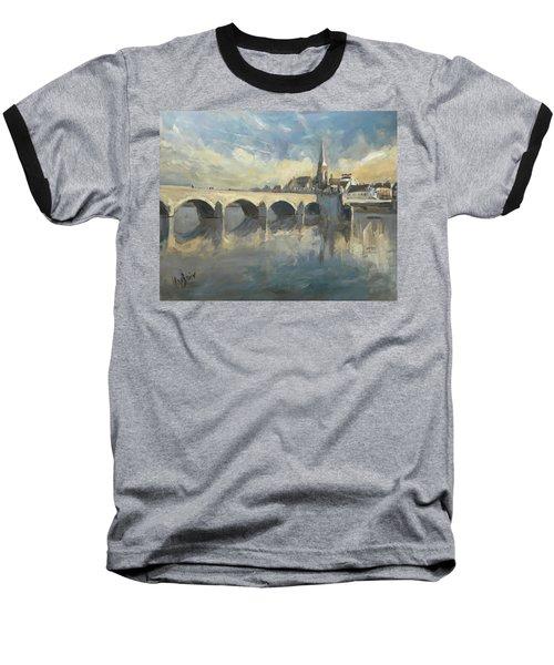 Sint Servaas Bridge Maastricht Baseball T-Shirt