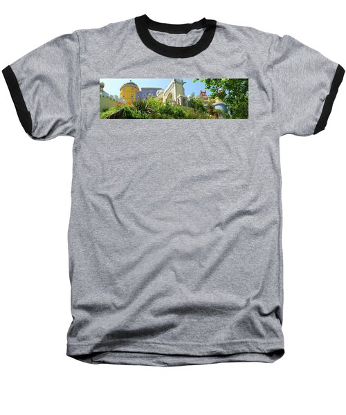 Baseball T-Shirt featuring the photograph Sintra Castle by Patricia Schaefer