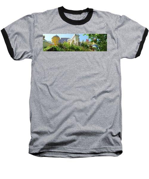Sintra Castle Baseball T-Shirt by Patricia Schaefer